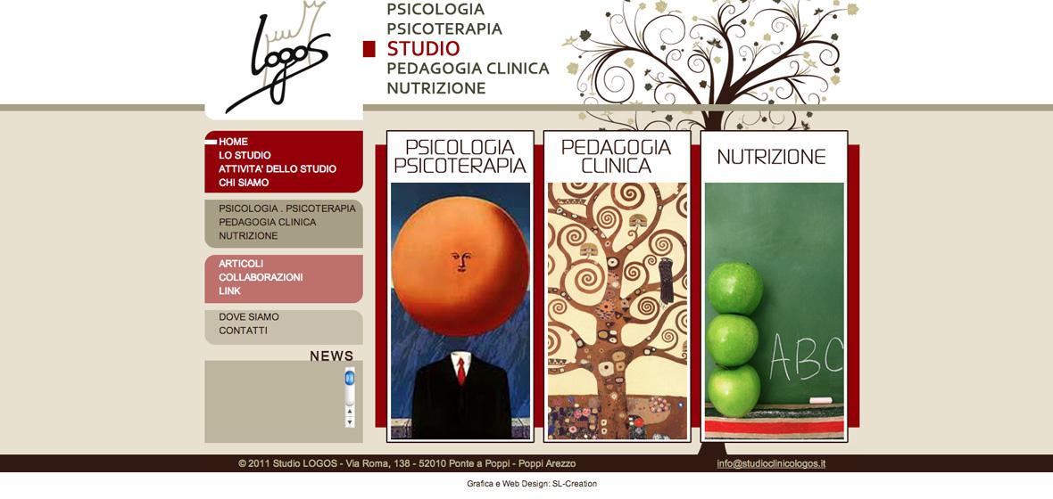 Sl creation creare portfolio for Logo sito web
