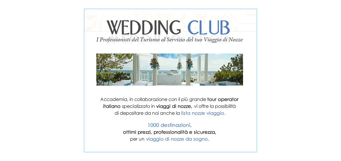 wedding club - banner animato